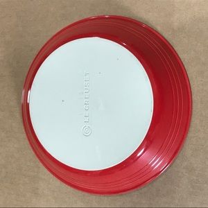 New Le Creuset Red Pie Plate Dish